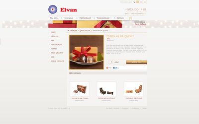 Elvan chocolate about page by alidemirci1