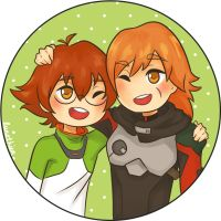 Holt siblings by lunethien