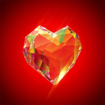 Polygonal Crystal Heart by IVV79