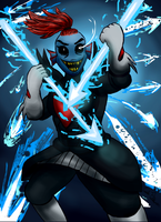 UNDYNE THE UNDYING by CAMIKOOPA