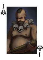 Jack of Clubs by Kaiazes