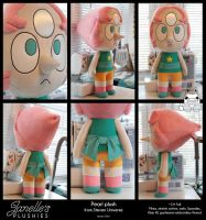 Giant Pearl Plush from Steven Universe by JanellesPlushies