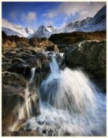The beautifull fairy Pools by ArwensGrace