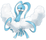 Aqua's Altaria by Smiley-Fakemon