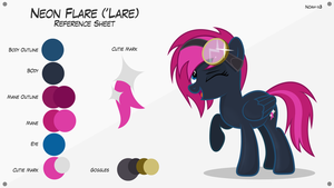 Lare - Reference Sheet (5.0) by Noah-x3