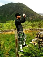 Tourist in Glencoe by Quadraro