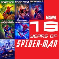 15 Years of Spiderman by JMK-Prime