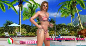 Tina-DOA5     POOL-QUEEN by blw7920
