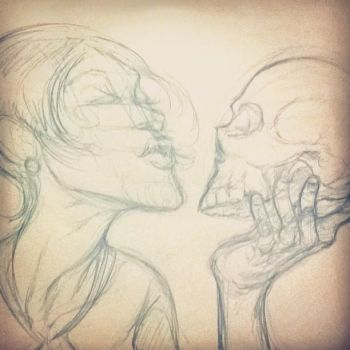 It's Evolution Baby - SKETCH by sir-wesley666
