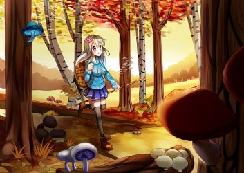 kanina's autumn part time job by roshichen