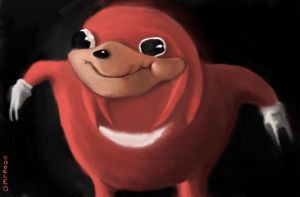 Ugandan Knuckles by Omenobo