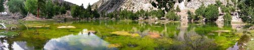 Green Lake in Naltar by OmerTariq