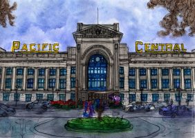 Vancouver, Pacific Central Station by Vokabre