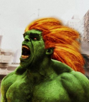 Blanka live action by Melciah1791