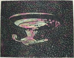 Scratchy Enterprise NCC-1701-D by Ripplin