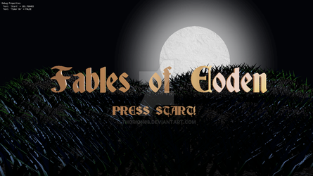 Fables of Eoden Title Screen WIP Beta by Thorion88