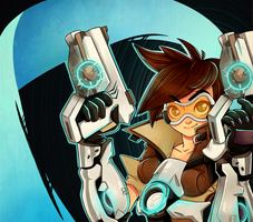 Overwatch Tracer by TrololhAnime
