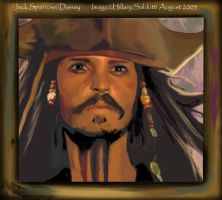 The Great Captain Jack Sparrow by dalmuln