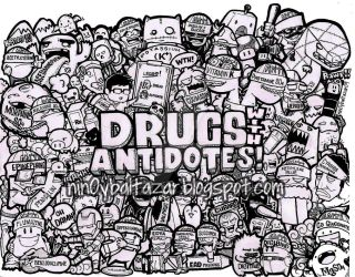 drugs with antidotes doodle BLK FINAL copywith wat by nin0ybaltazar09