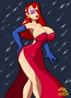 Jessica Rabbit by FBende