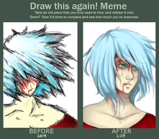 Before And After - The Sacrifice by AngeltheMerman