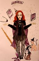 My Witchsona for Witchsonaweek by chaosqueen122