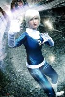 Sue Storm - Fantastic Four - Marvel Comics by MixUpCosplay