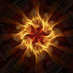 Flaming Star II by eReSaW