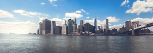 Manhattan skyline by MacSpiffy