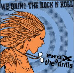 PhilX and The Drills COVER ART by AlexDiotto