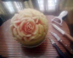 Watermelon Carving by AmaranthLevana