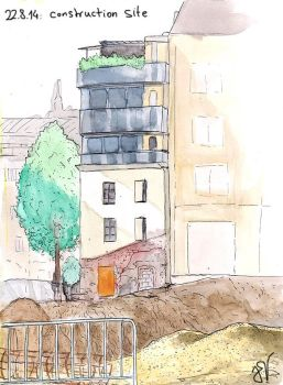 urban sketching 22.8.: construction site by light-serpent