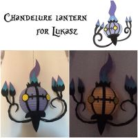 Chandelure Lantern for Lukasz by auroraailuros