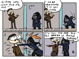 dishonored 2, doodles 21 by Ayej