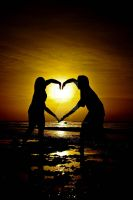 Warm Heart by LitratistangDenoy