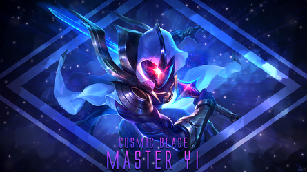 Cosmic Blade Master Yi Wallpaper By ZacTheAcorn On DeviantArt