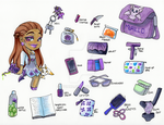 What's in my Bag?  Lurdes by Jyinxe