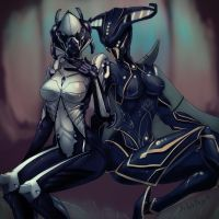 Valkyr and Banshee by maze-d