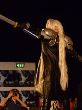 Sephiroth from Dissidia Group by JenovaBoi