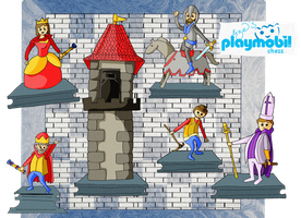 playmobil chess by Lizeeeee