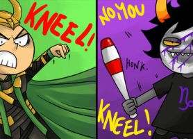 Kneel! I said KNEEL! by zero0810
