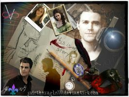 Stefan Salvatore This is my Story by JadeTheAngle777