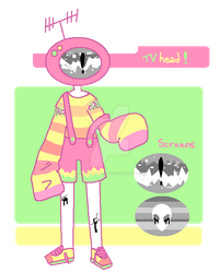 [CLOSED] Round TV [AUCTION] by MaiaSadoptsNstuff