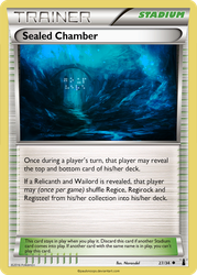 Sealed Chamber card - LM 27/34 by Metoro