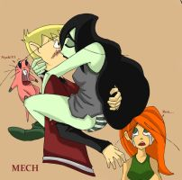 Ron and Shego by Mechamatteo