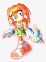 Tikal The Echidna by Imajenationss