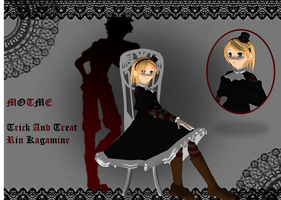 MOTME - Trick And Treat Rin Kagamine by MMD-MCL