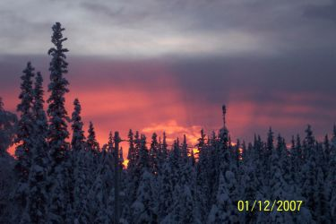 Yet another pic of the sunset. by i-give-you-my-heart