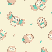 Rowlet Wallpaper