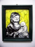 mother and baby by Comolo